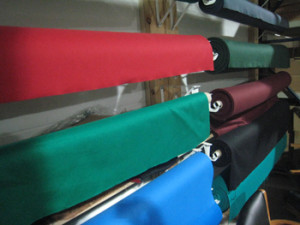 Wadsworth billiard table recovering table cloth colors