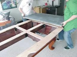 Billiard table moves in Wadsworth Ohio