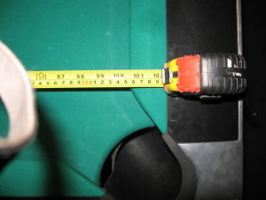 To determine billiard table room sizes, measure your billiard table play field.