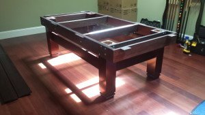 Correctly performing billiard table installations, Wadsworth Ohio